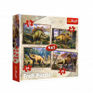 puzzle dinosaure